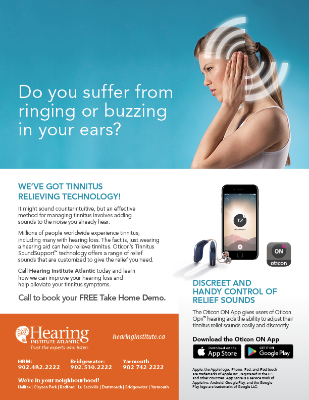 Try It Tinnitus Relieving Technology Hearing Institute Atlantic